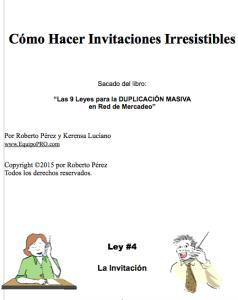 Invitaciones Irresistibles